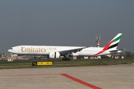 Emirates first flight