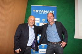 Ryanair presents Winter 2016 at Bologna Airport