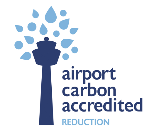 Logo Airport Carbon Accredited