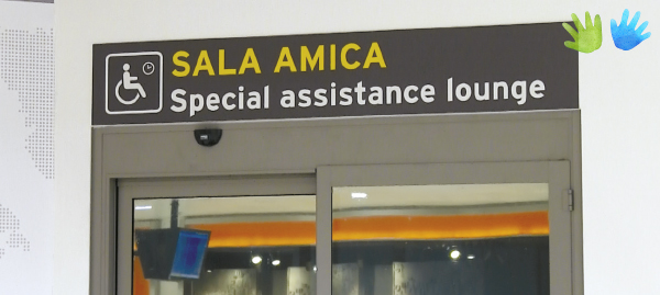 Sala amica - Special assistance lounge